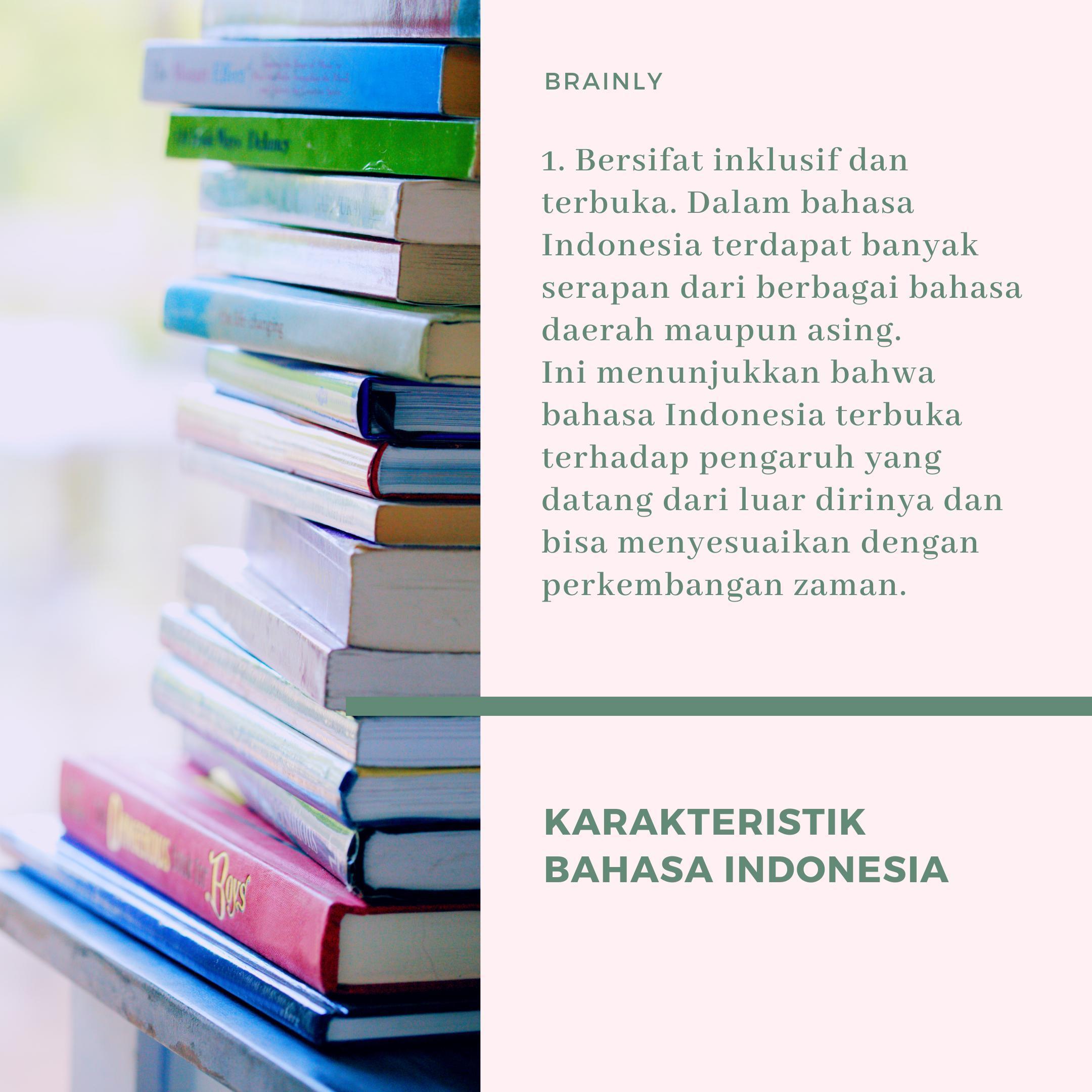 Pengertian Bahasa Indonesia Sebagai Pemersatu Bangsa Adalah Brainly