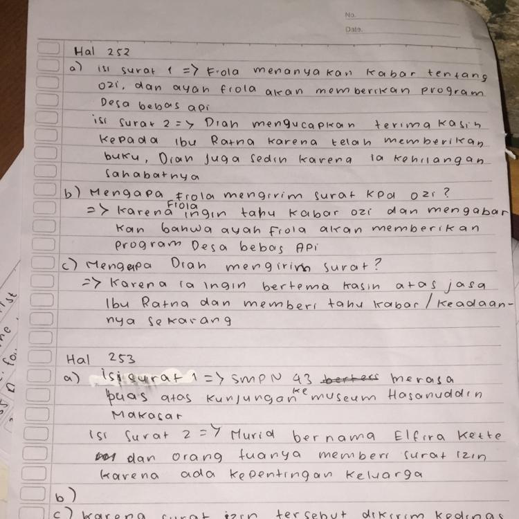 Kunci Jawaban Bahasa Indonesia Kelas 7 Halaman 104 Ilmusosial Id