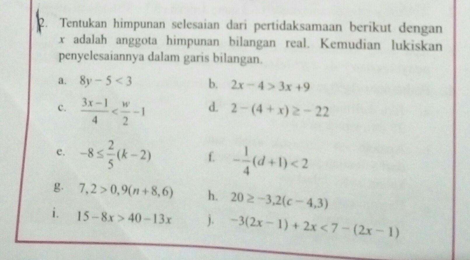 Soal Dan Pembahasan Himpunan Kelas 7