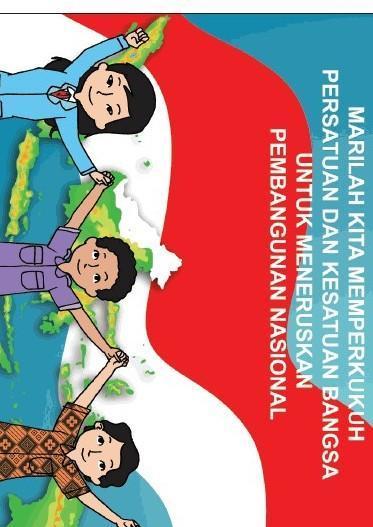 Membuat Poster Tentang Manfaat Nilai Persatuan Dan Kesatuan