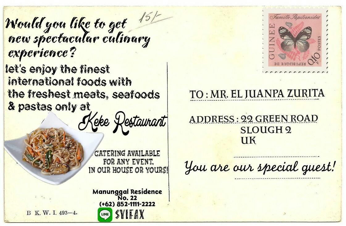 Contoh Text Promosi Produk Makanan Dalam Bahasa Inggris Brainly