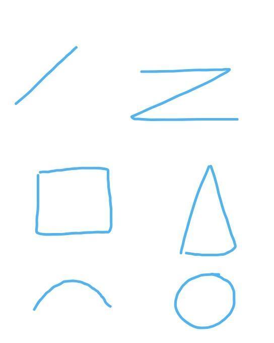 Buatlah 4 bentuk gambar pola lantai beserta namanya ...