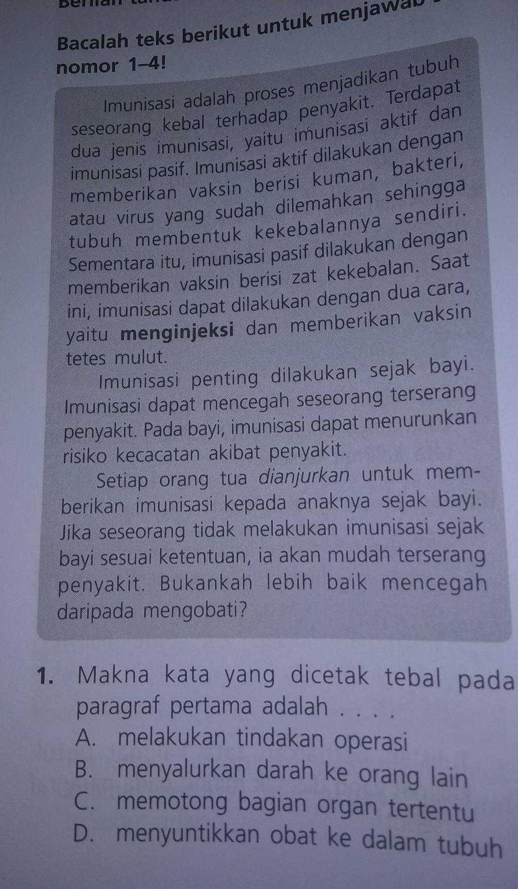 Paragraf Pertama Artinya