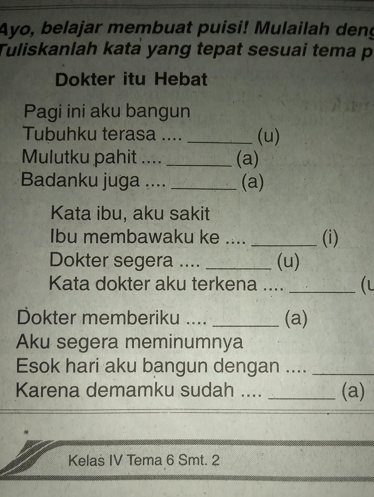 Puisi Dokter Hebat