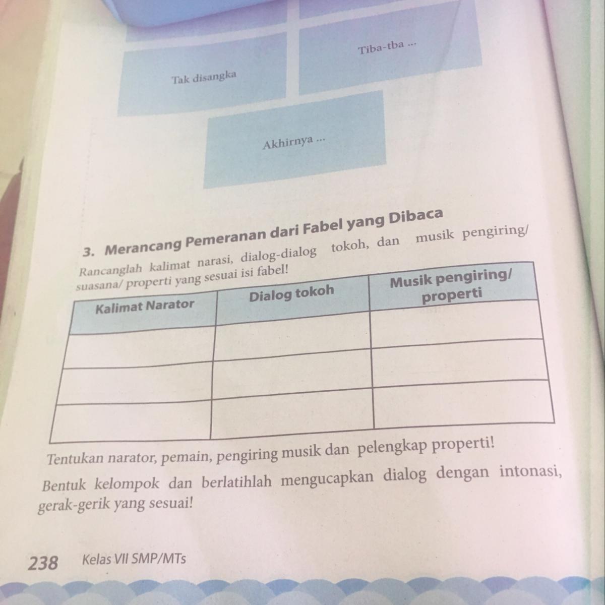 Kunci Jawaban Buku Paket Bahasa Indonesia Kelas 7 Guru Galeri