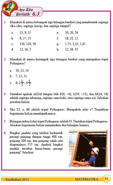 Uji Kompetensi 6 Matematika Kelas 7 Semester 2 Hal 94 Ilmusosial Id