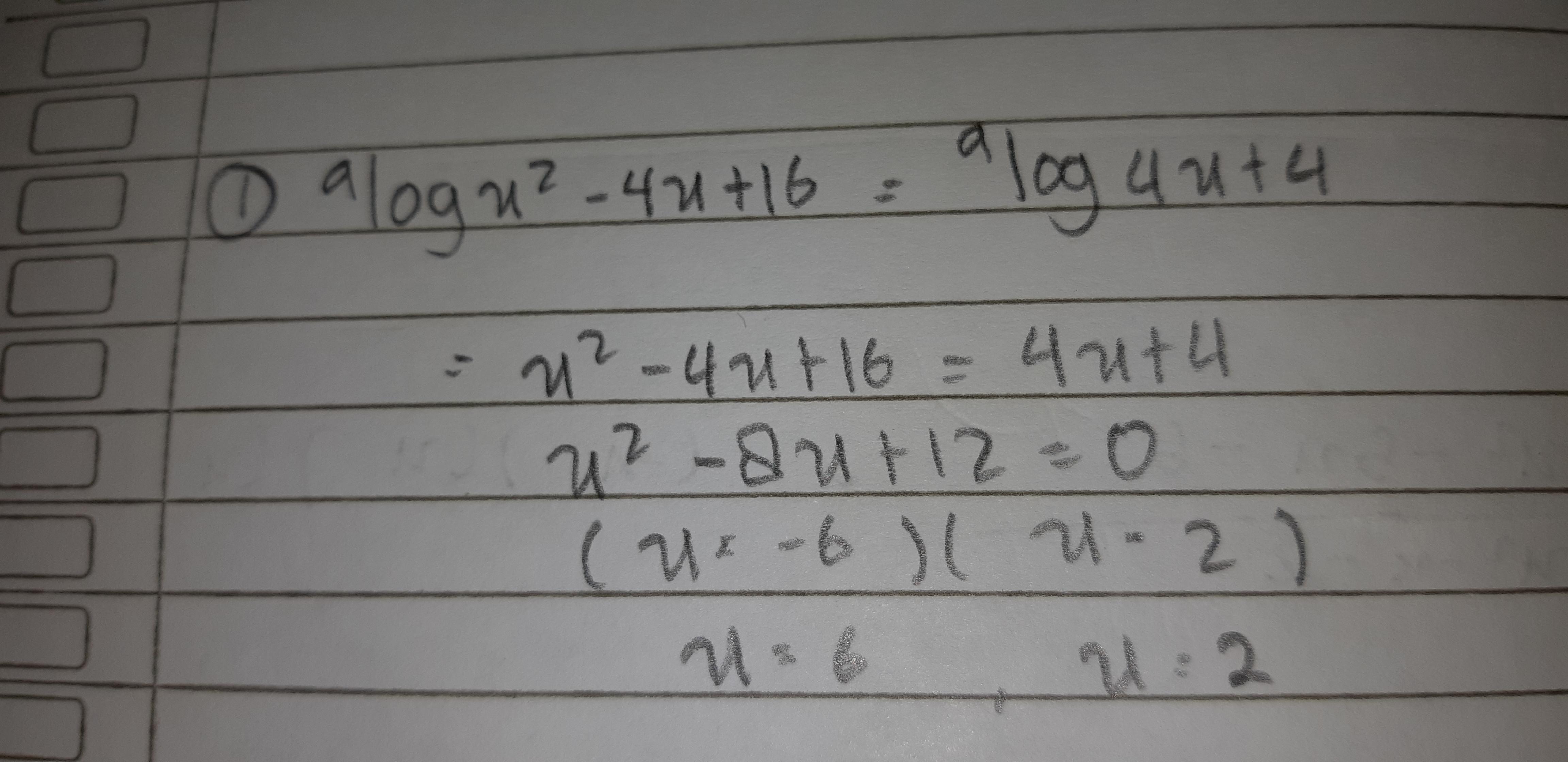 Contoh Soal A Log F X A Log G X Dengan F X G X Brainly Co Id