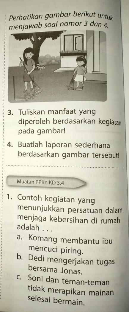 Perhatikan Gambar Berikut Untuk Menjawab Soal Nomor 3 Dan 4 Dan Berikutnya Brainly Co Id
