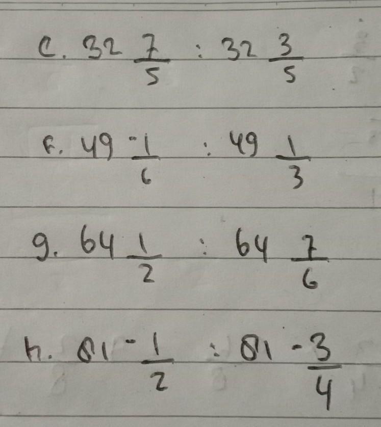 Pembangian Bilangan Berpangkat Pecahan Kelas 9 Brainly Co Id