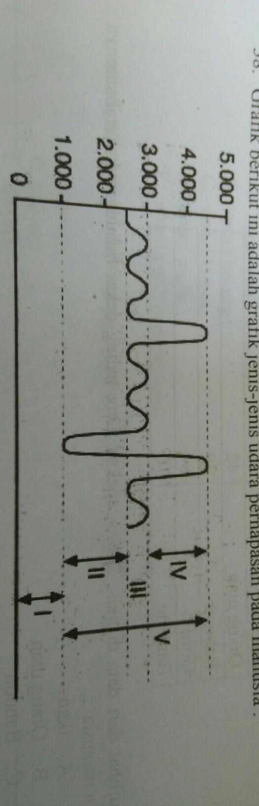 Identifikasi Lah Jenis Jenis Udara Pernafasan Untuk Grafik No 1 2 3 4 Dan 5 Beserta Besar Volume Brainly Co Id