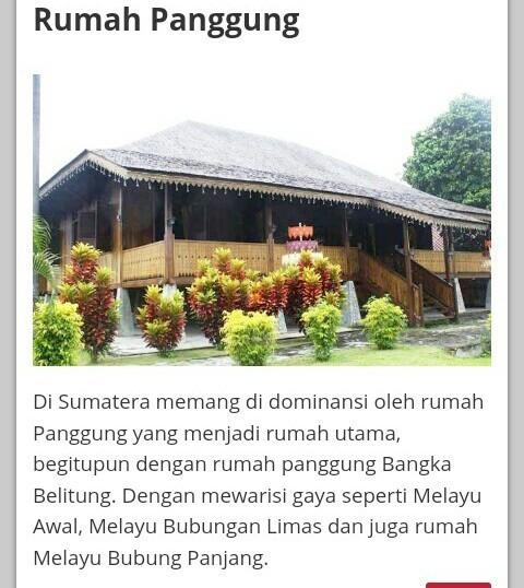 Apa Nama Rumah Adat Yang Berasal Dari Daerah Bangka Riau