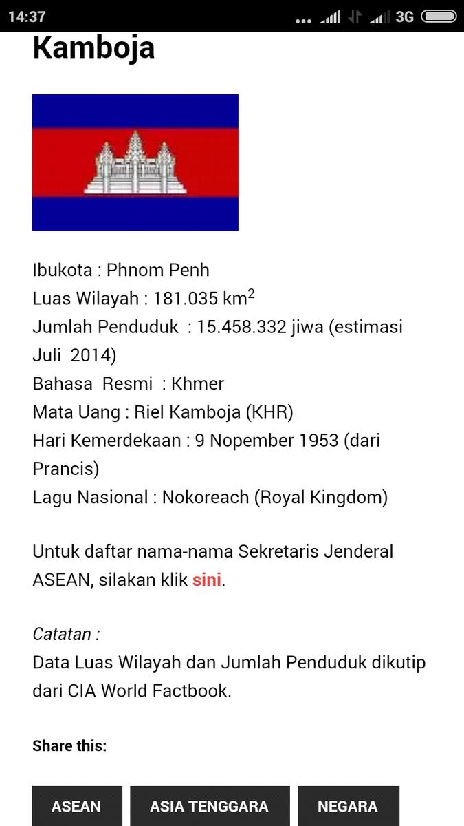 Gambar Negara Kamboja Profil Negara Kamboja Brainly Co Id