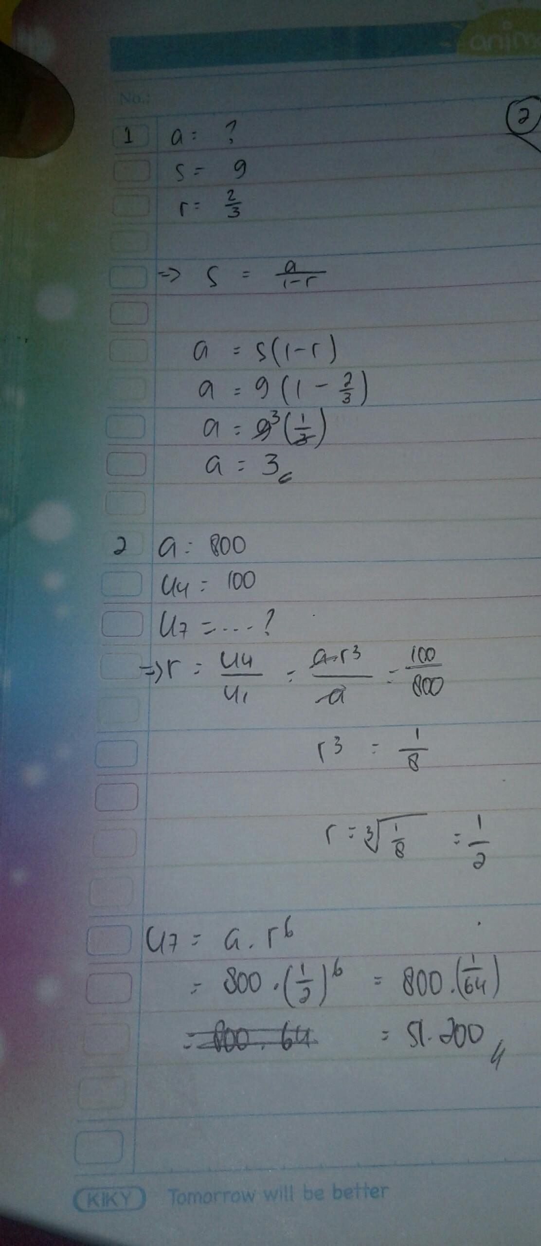 17+ Contoh Soal Menentukan Suku Pertama Deret Geometri Tak ...