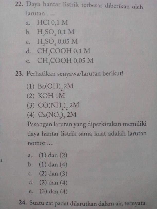 Mohonn Bantuannya Tolong Jawab Nomor 23 Aku Kasi Point 25