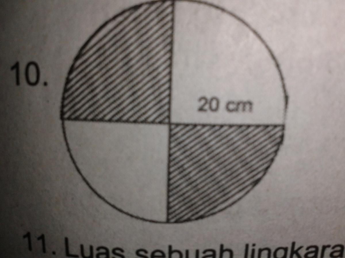 Luas Daerah Yang Diarsir Pada Lingkaran Disampimg Adalah Cm2 Mohon Tambahkan Cara Mencari Brainly Co Id