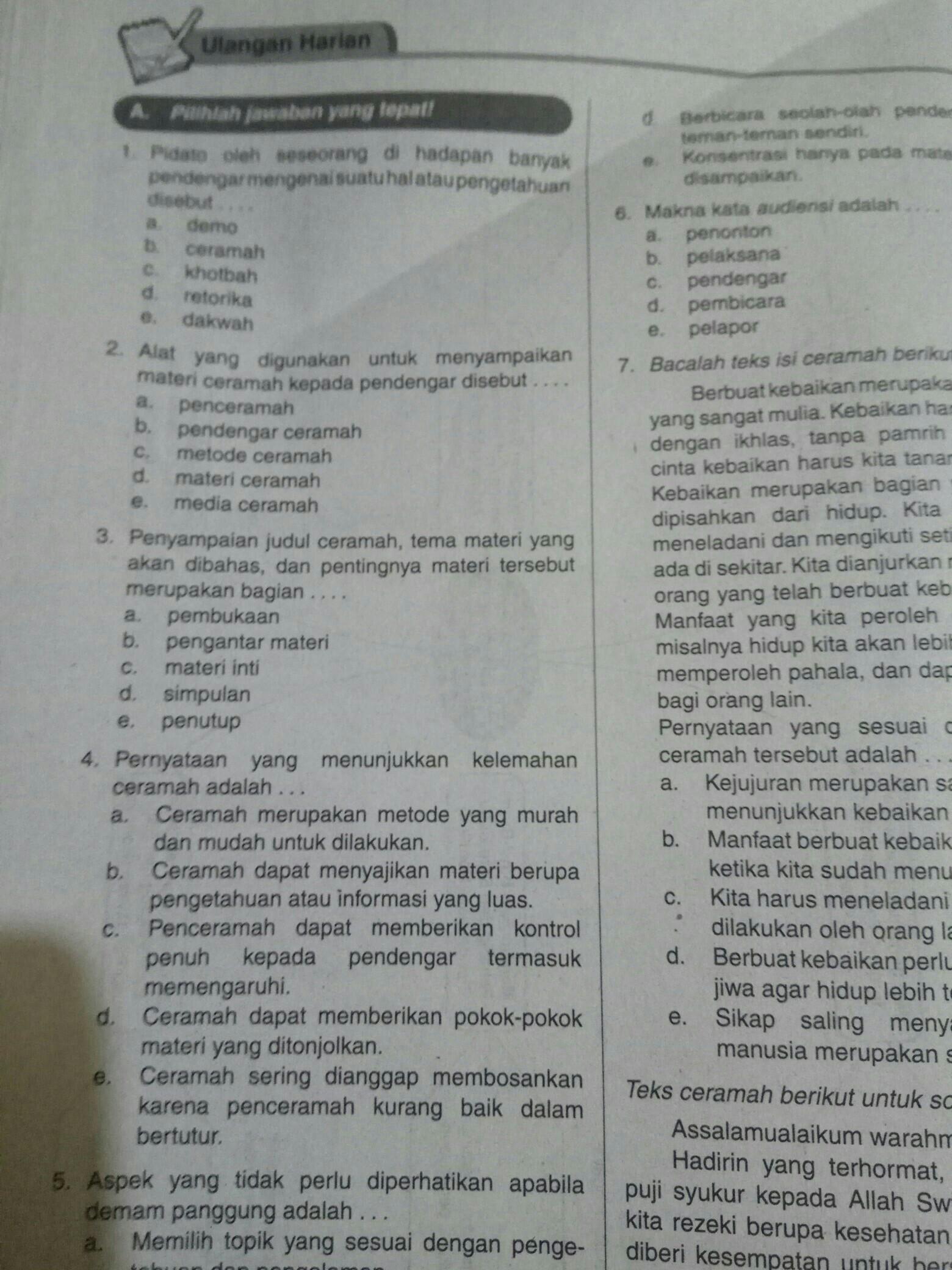 Kak Bantuin Saya Kerja Tugas Bahasa Indonesia Kelas 11 Tentang Debat