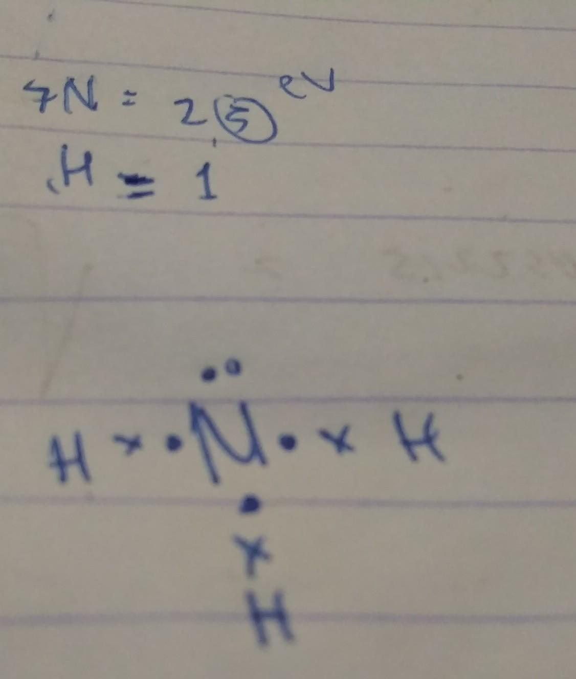 Tuliskan Struktur Lewis Senyawa Senyawa Nh3 Brainly Co Id