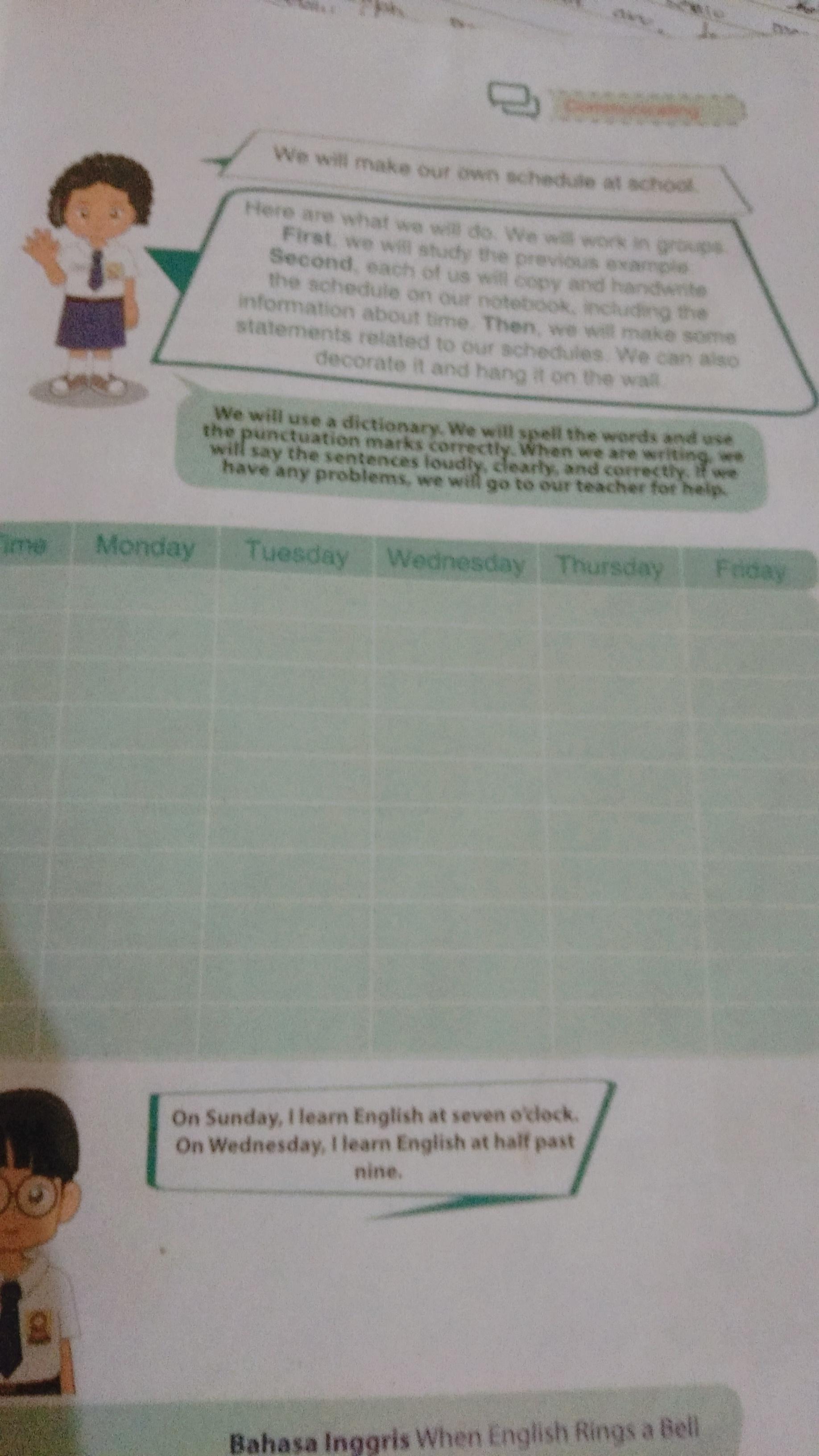 Jawaban Buku B Inggris Kelas 7 Halaman 57 Brainly Co Id
