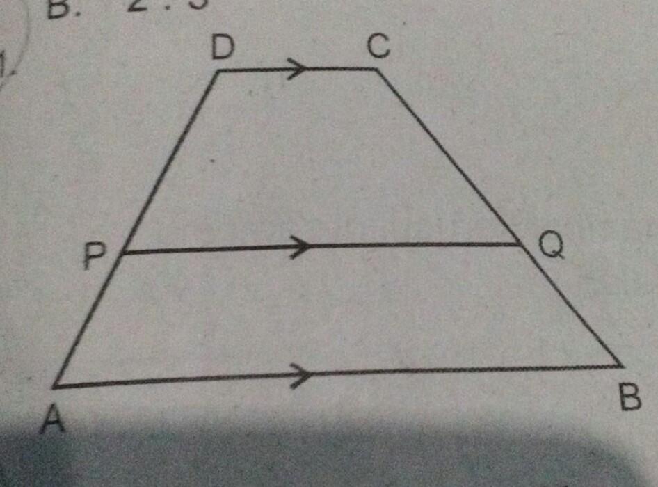 perhatikan gambar di samping. jika AP = 3 cm, PD = 5 cm ...