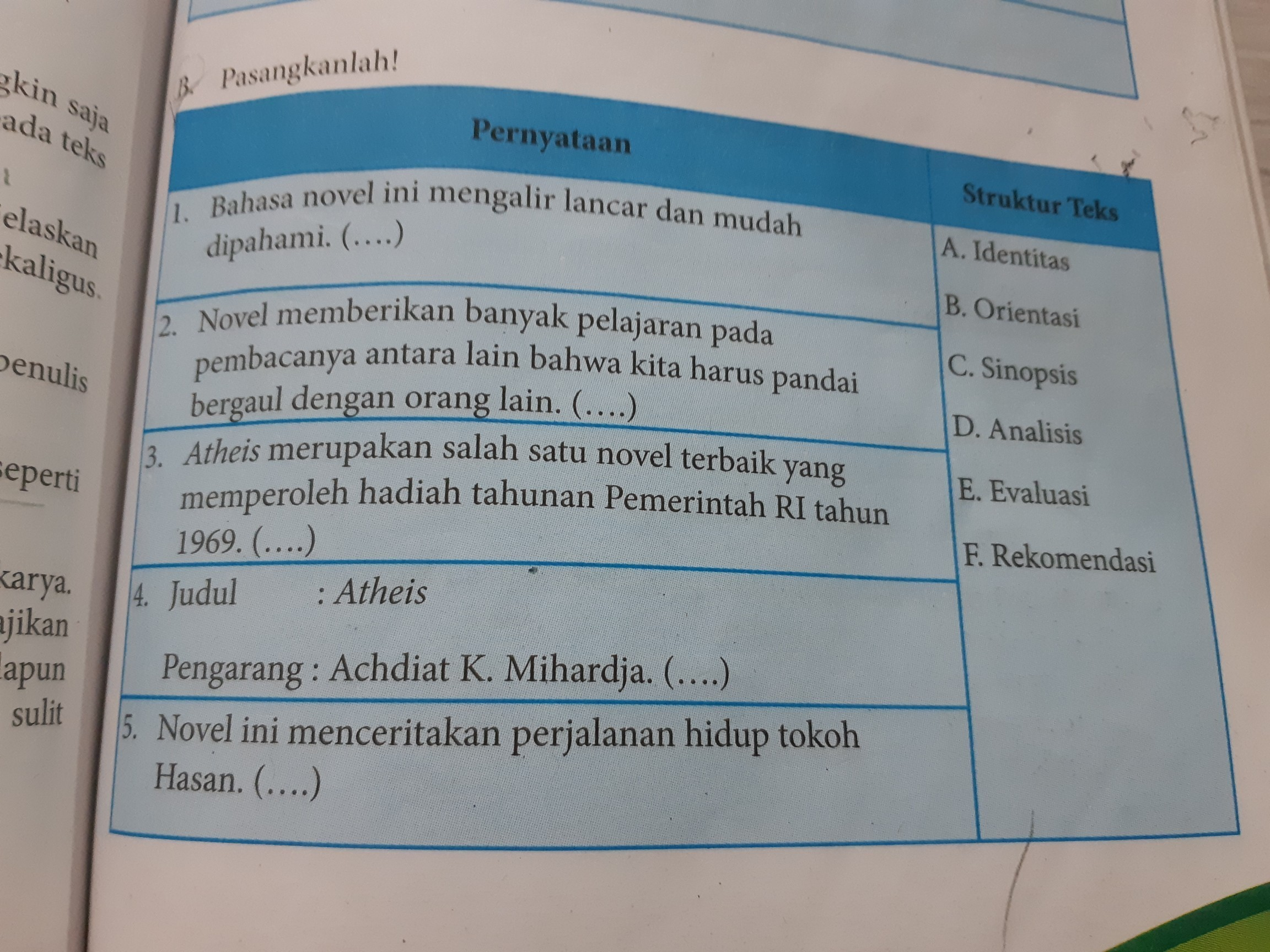 Kunci Jawaban Bahasa Indonesia Buku Erlangga Kelas 11 Ktsp Sma Ilmusosial Id