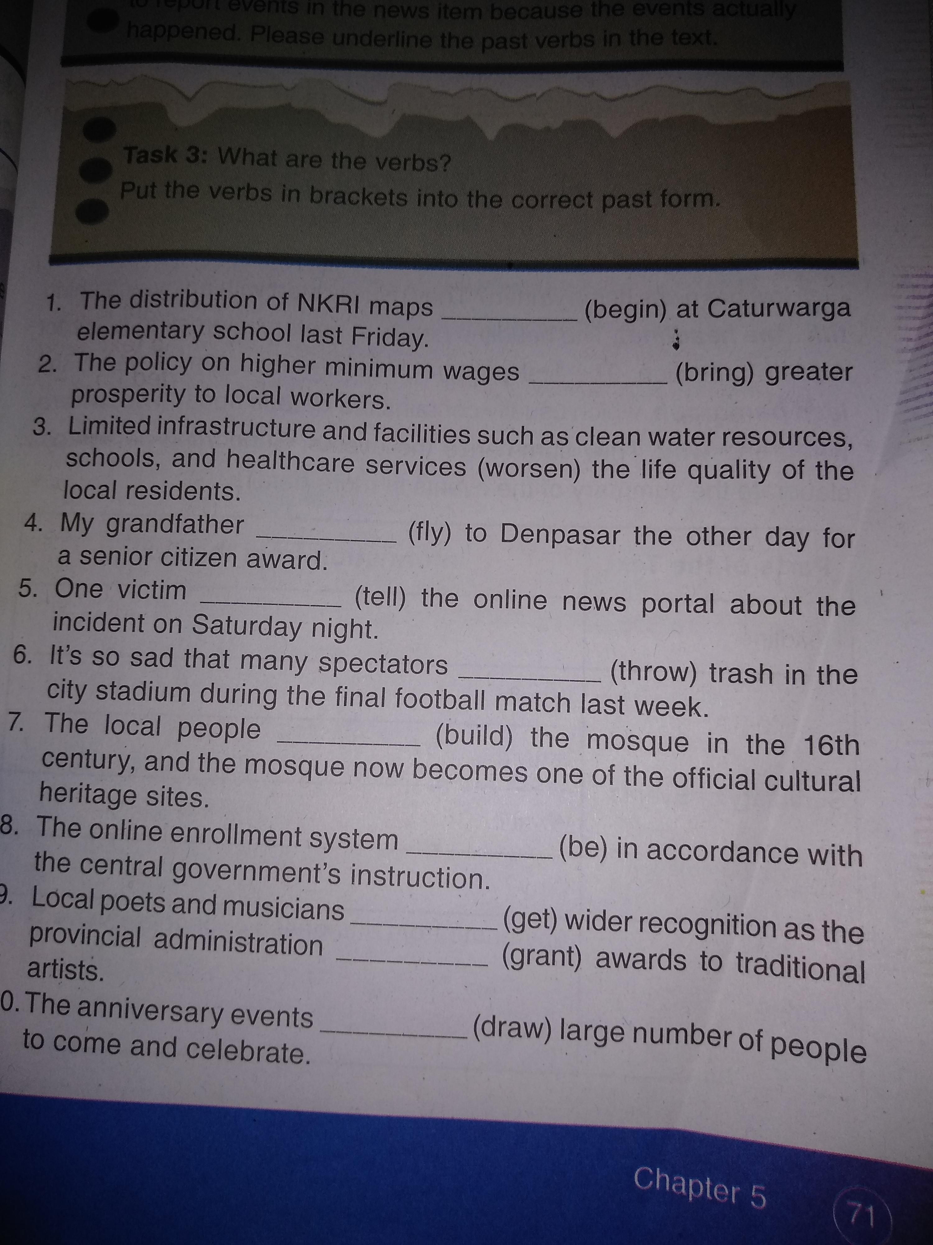 Tolong Bantu Jawab Dong Bahasa Inggris Halaman 71 Kelas 12 Brainly Co Id