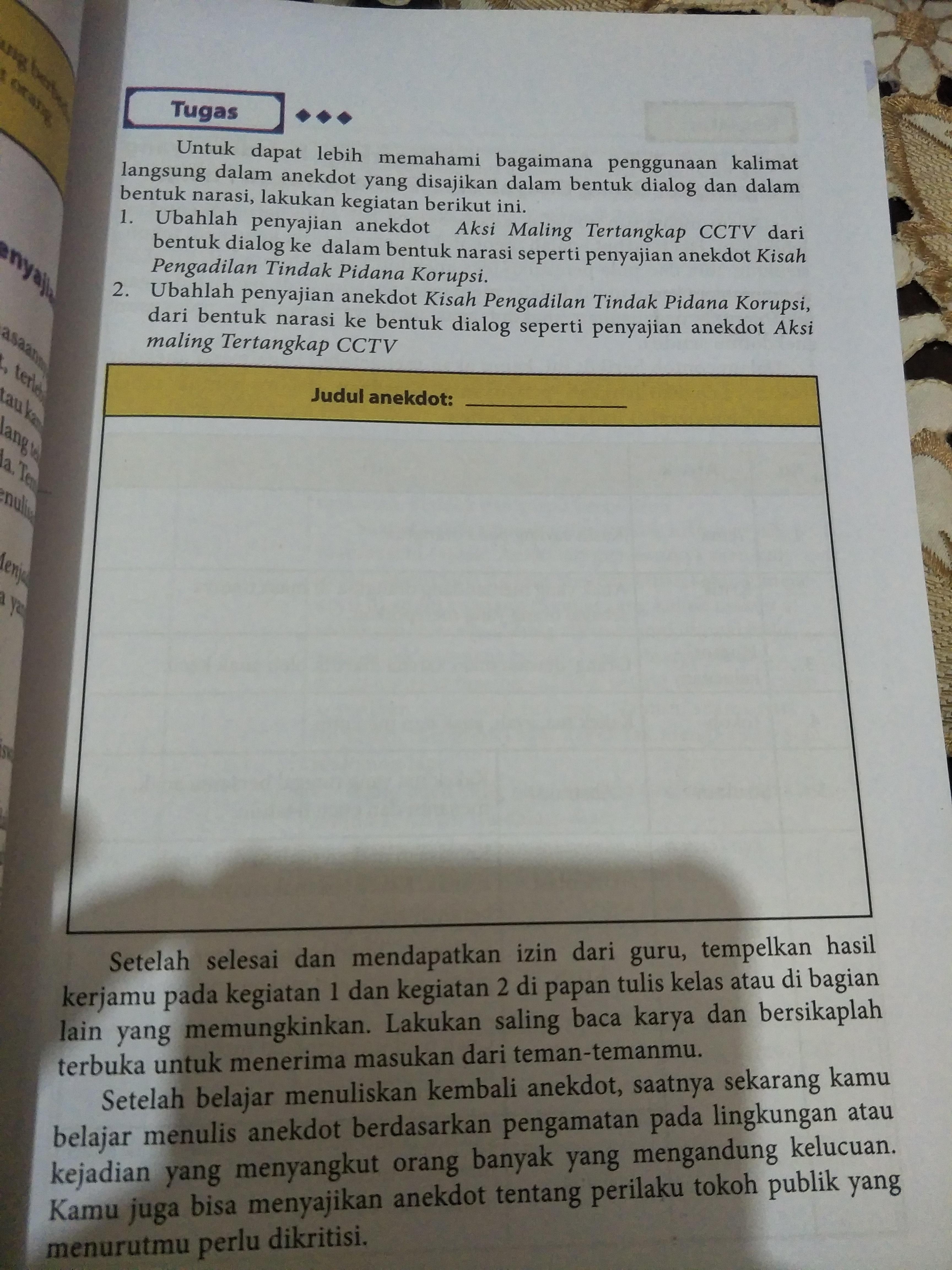 43 Kunci Jawaban Buku Bahasa Indonesia Kelas 10 Kurikulum 2013 Semester 1 Photos Cebong Kampret