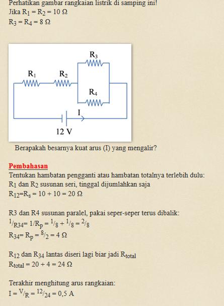 Tolong Berikan Contoh Soal Fisika Kls 9 Tentang Hukum Ohm Brainly Co Id