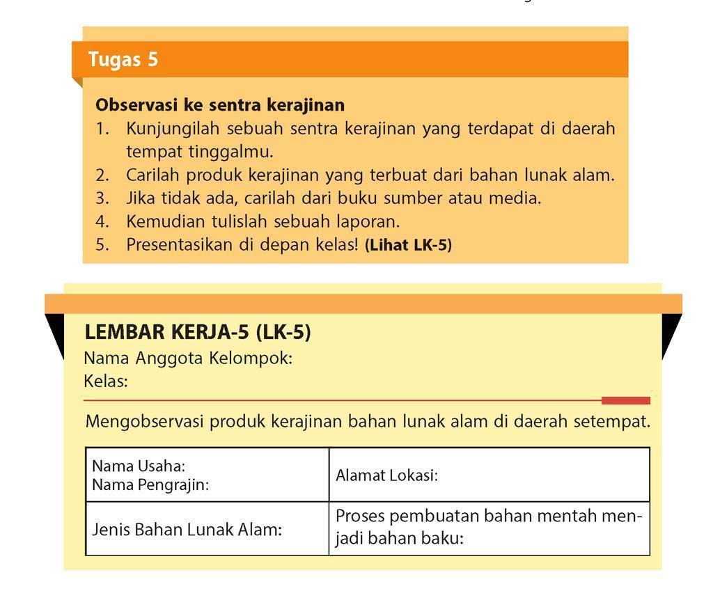 Jawaban Prakarya Kelas 8 Halaman 8 Semester 2 Download File Guru