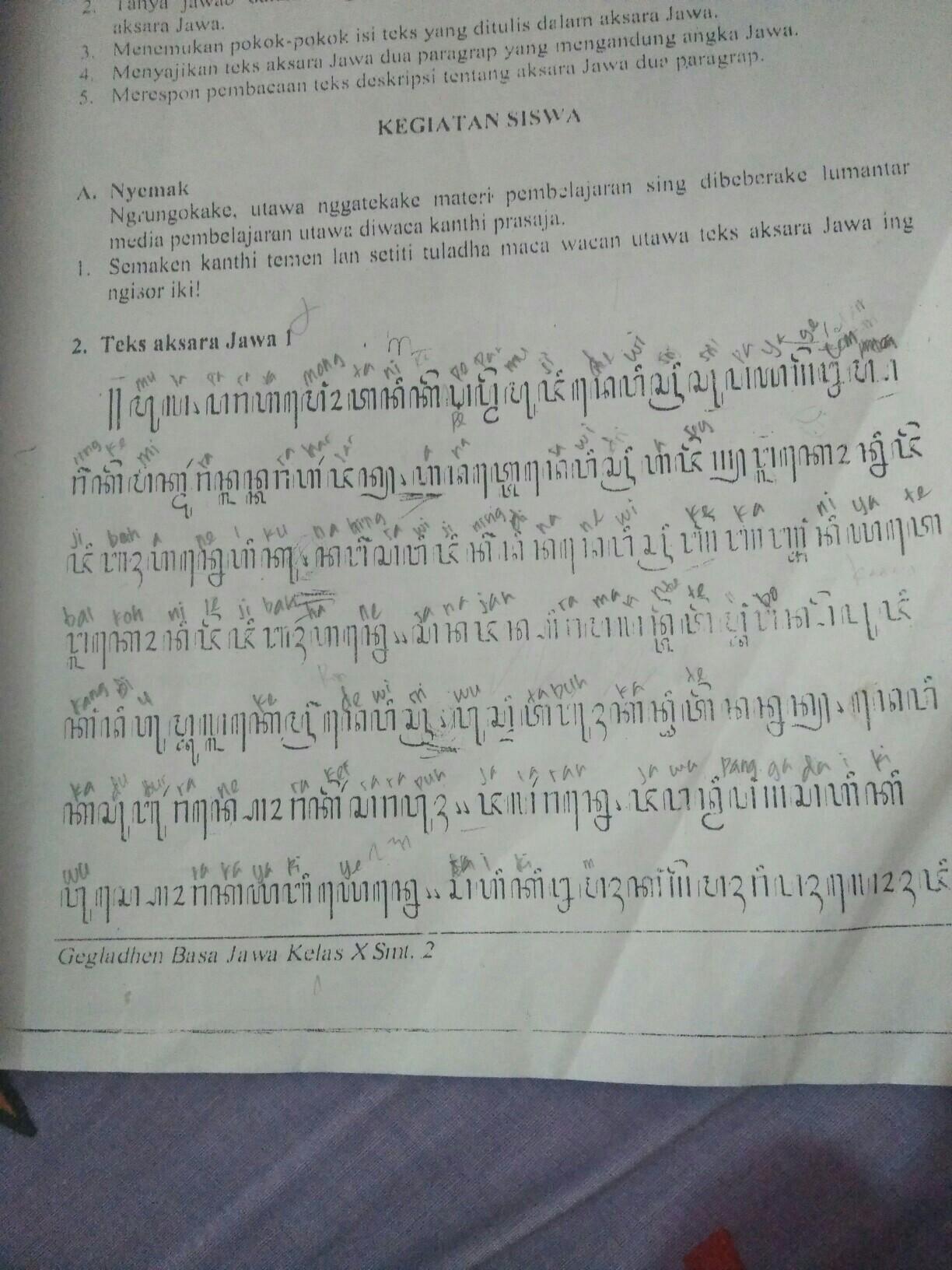 Tolong Bantu Nerjemahin Aksara Jawa Itu Dong Plis Brainly Co Id