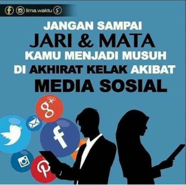 Contoh Poster Yang Berhubungan Dengan Media Sosial Beserta Gambar