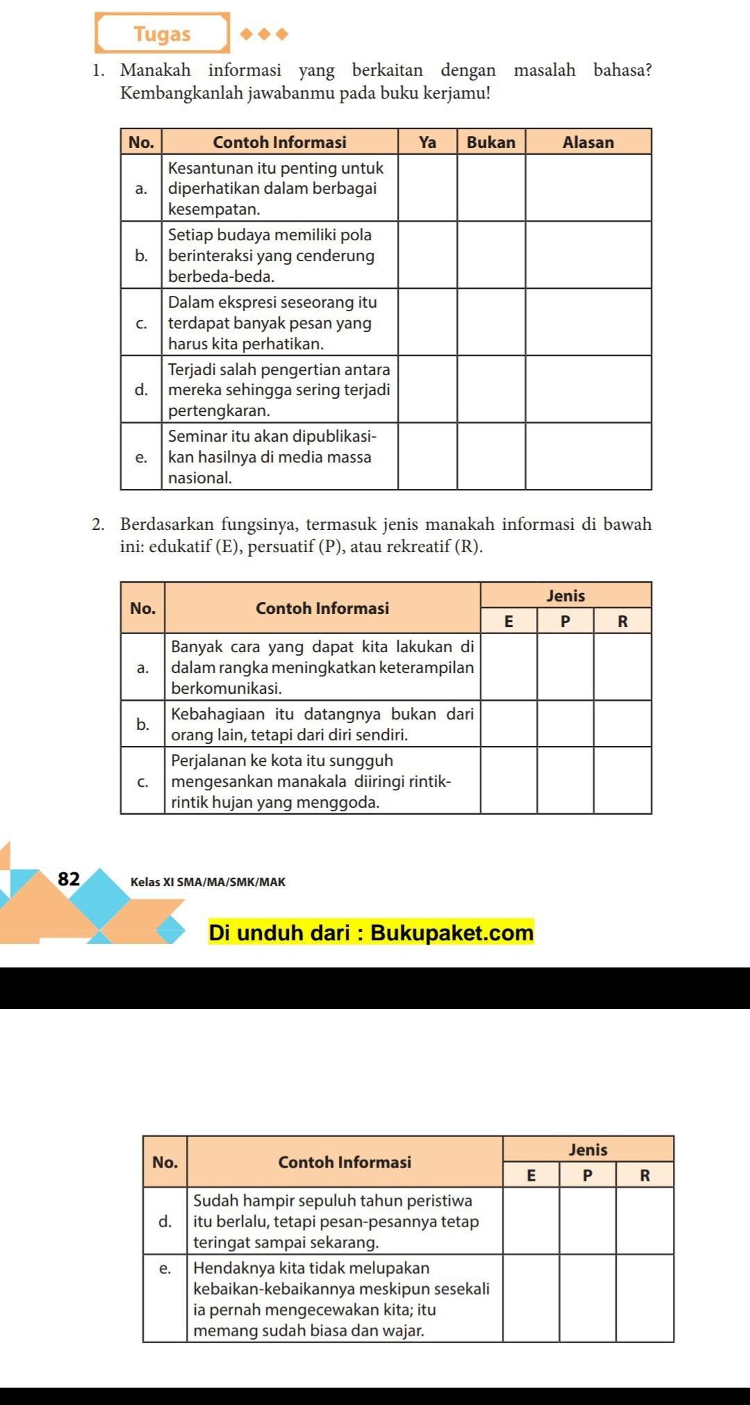 Bantuin Ya Kak Pelajaran Bahasa Indonesia Bab Teks Ceramah E