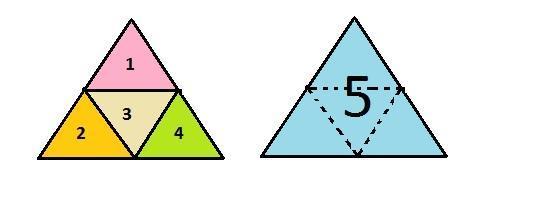 Hitunglah jumlah segitiga pada gambar berikut - Brainly.co.id