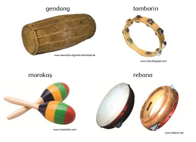 Alat Musik Ritmis Melodis Dan Harmonis Beserta Gambarnya Berbagai Alat