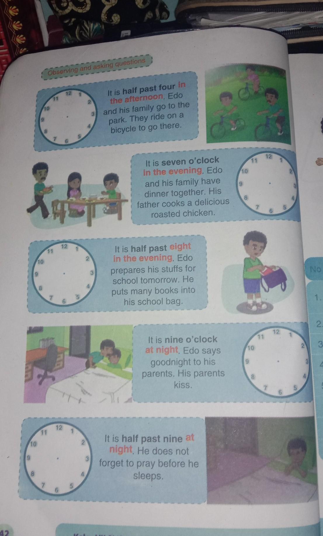 Jawaban Bahasa Inggris Kelas 7 Halaman 42 Brainly Co Id