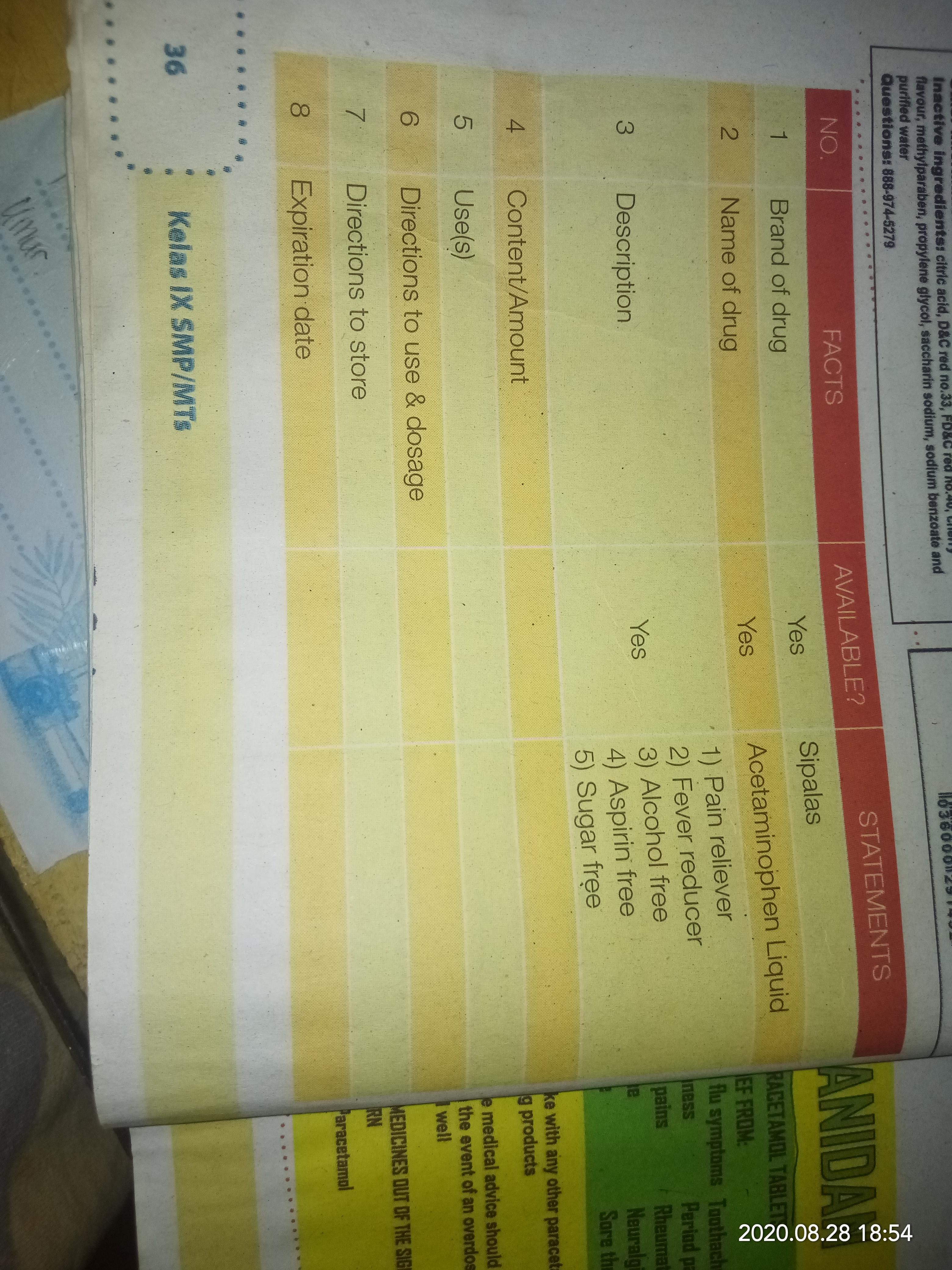 Jawab Pertanyaan Buku Paket Bahasa Inggris Kelas 9 Halaman 36 Brainly Co Id
