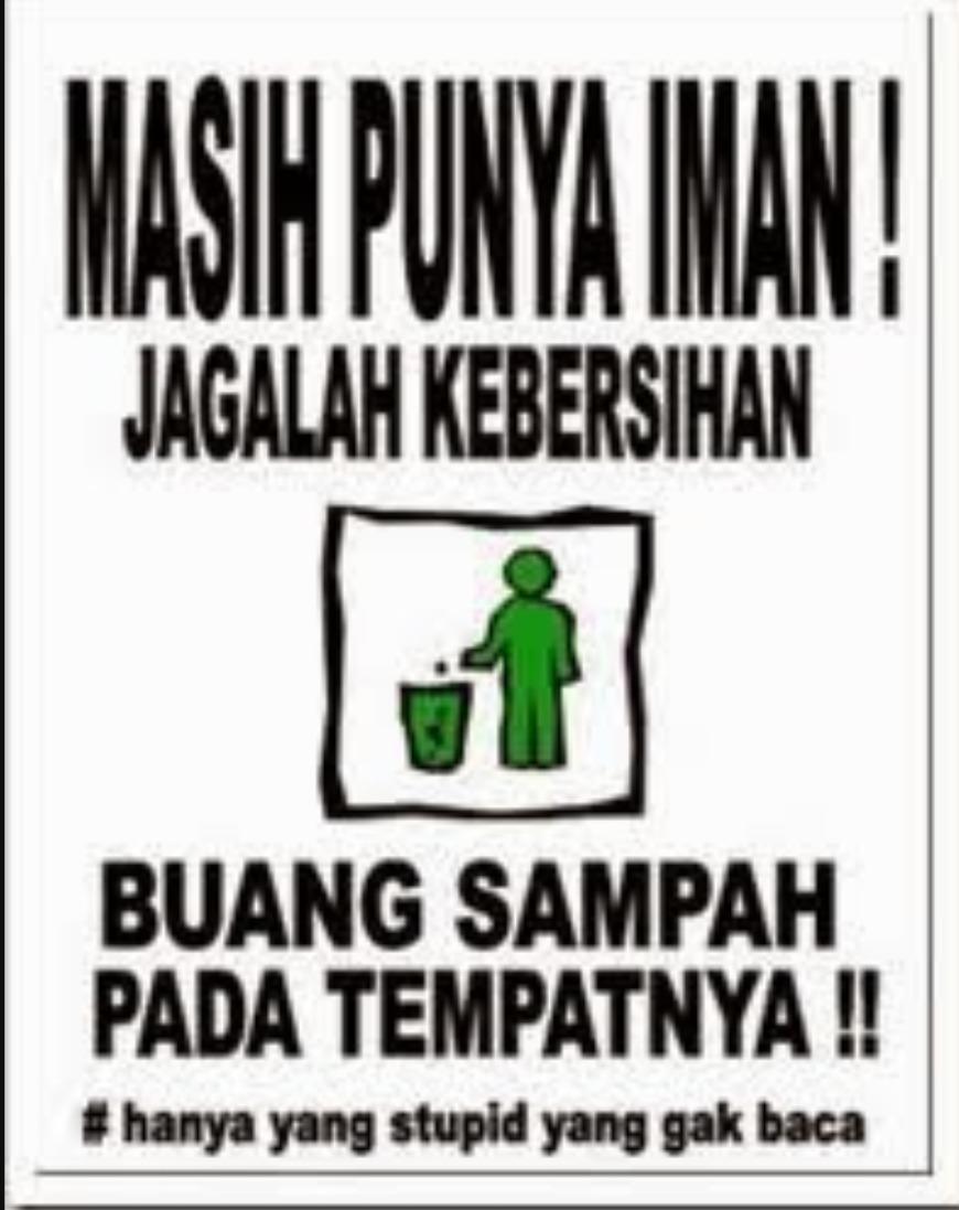 Buatlah Satu Contoh Poster Dan Slogan Tolong Di Jawab