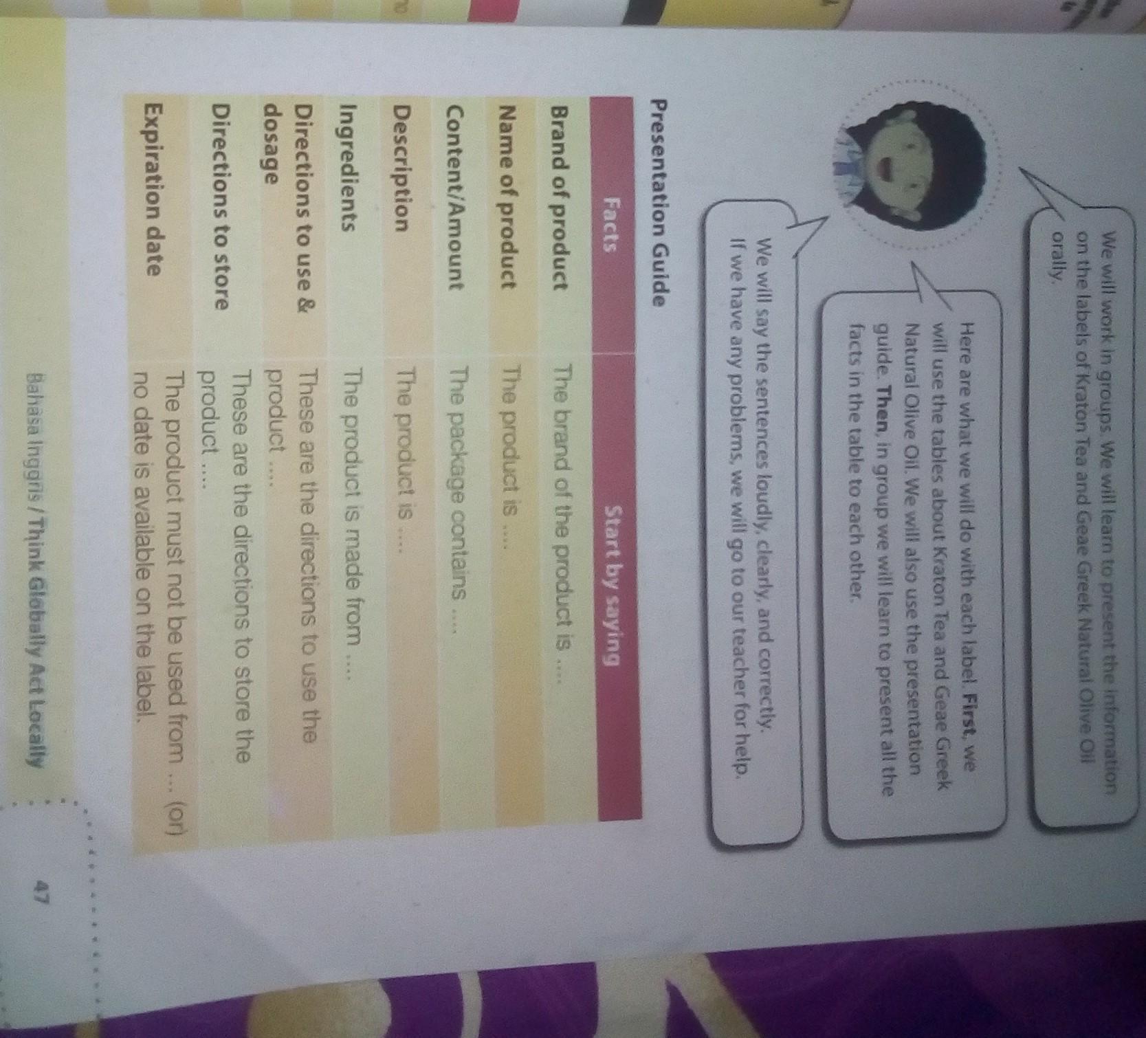 Bahasa Inggris Kelas 9 Halaman 47 Brainly Co Id