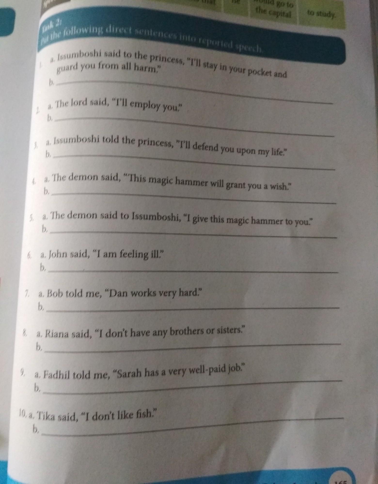 Jawaban Soal Bhs Inggris Paket Hal 165 Kelas X Kurikulum 2013 Brainly Co Id