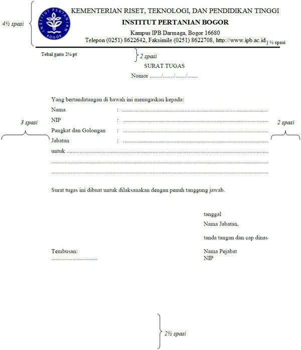 Buatlah Surat Tugas Untuk Ke Dinas Perikanan Kelautan Amp