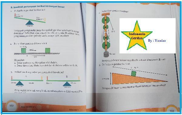 Kunci Jawaban Buku Paket Ipa Halaman 102 103 Kelas 8 Smp Semester 1 Brainly Co Id