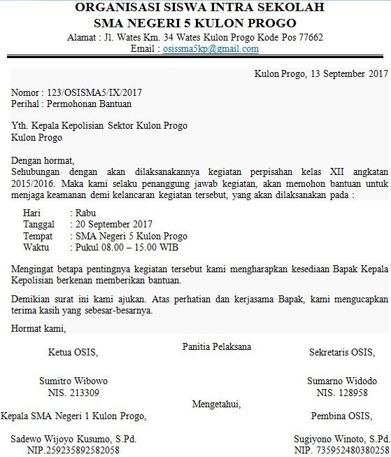 Contoh Surat Permohonan Keamanan Yg Di Tujukan Kepada Polsek Until