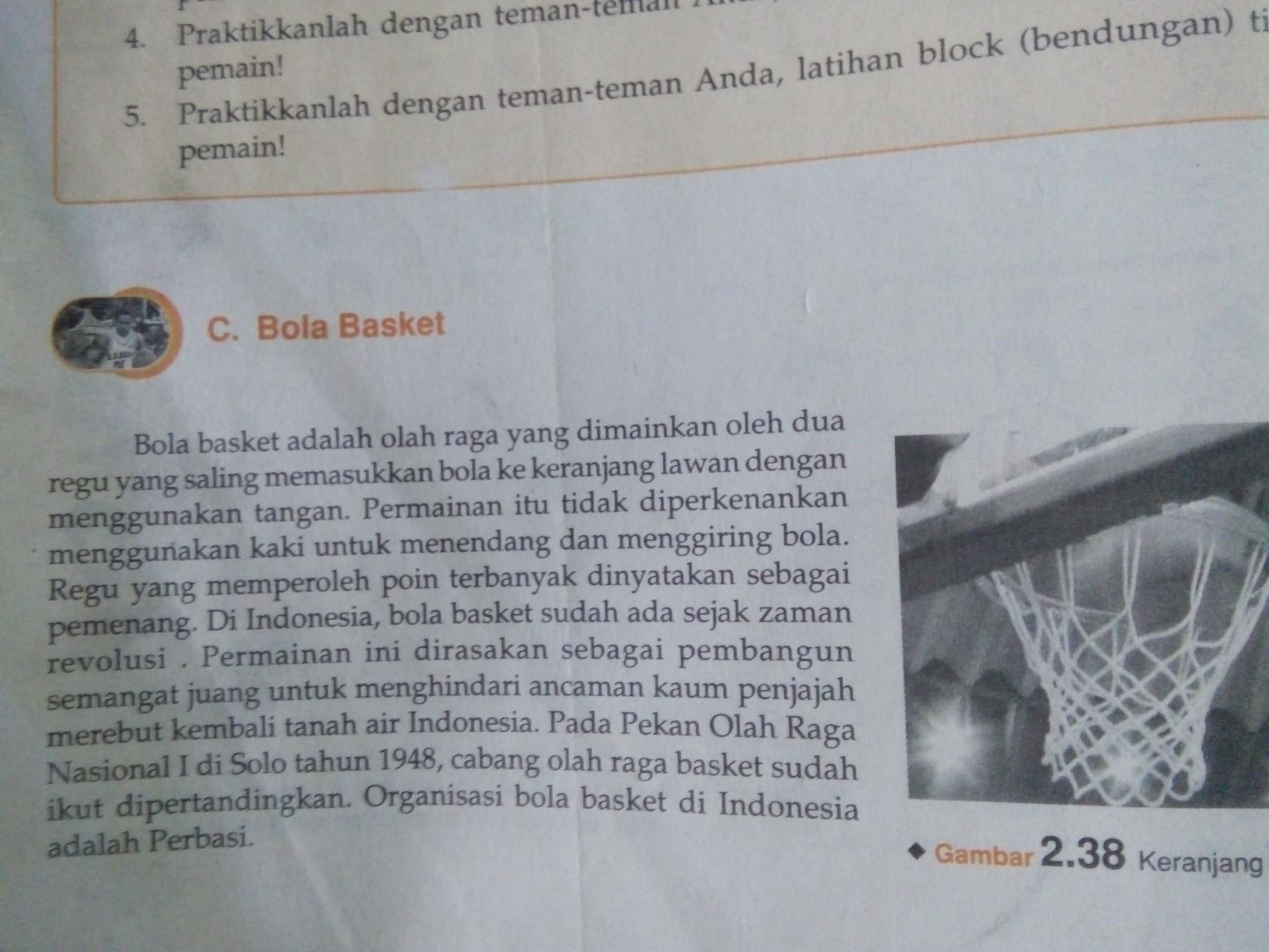Sejarah Permainan Bola Basket Brainly Co Id