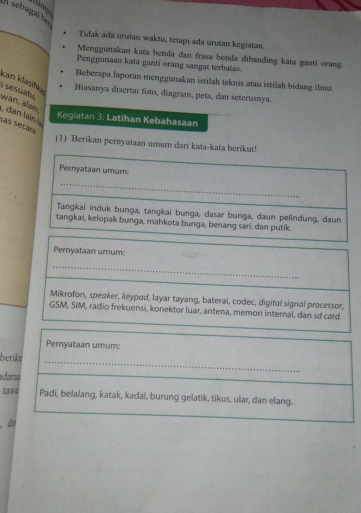 Jawaban Tugas Bahasa Indonesia Kelas 9 Halaman 25 Brainly Co Id