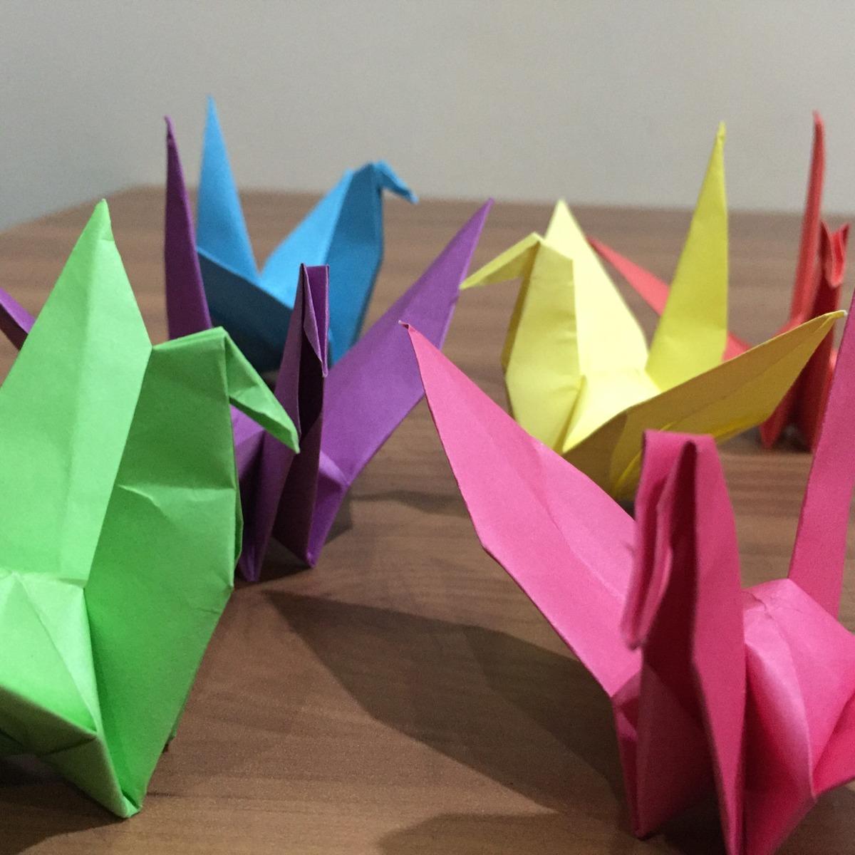 Jelaskan Cara Membuat Origami Bangau Brainly Co Id