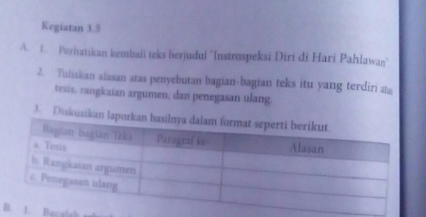 Jawaban Kegiatan 3 5 Bahasa Indonesia Kelas 8 Kurikulum 2013 Brainly Co Id