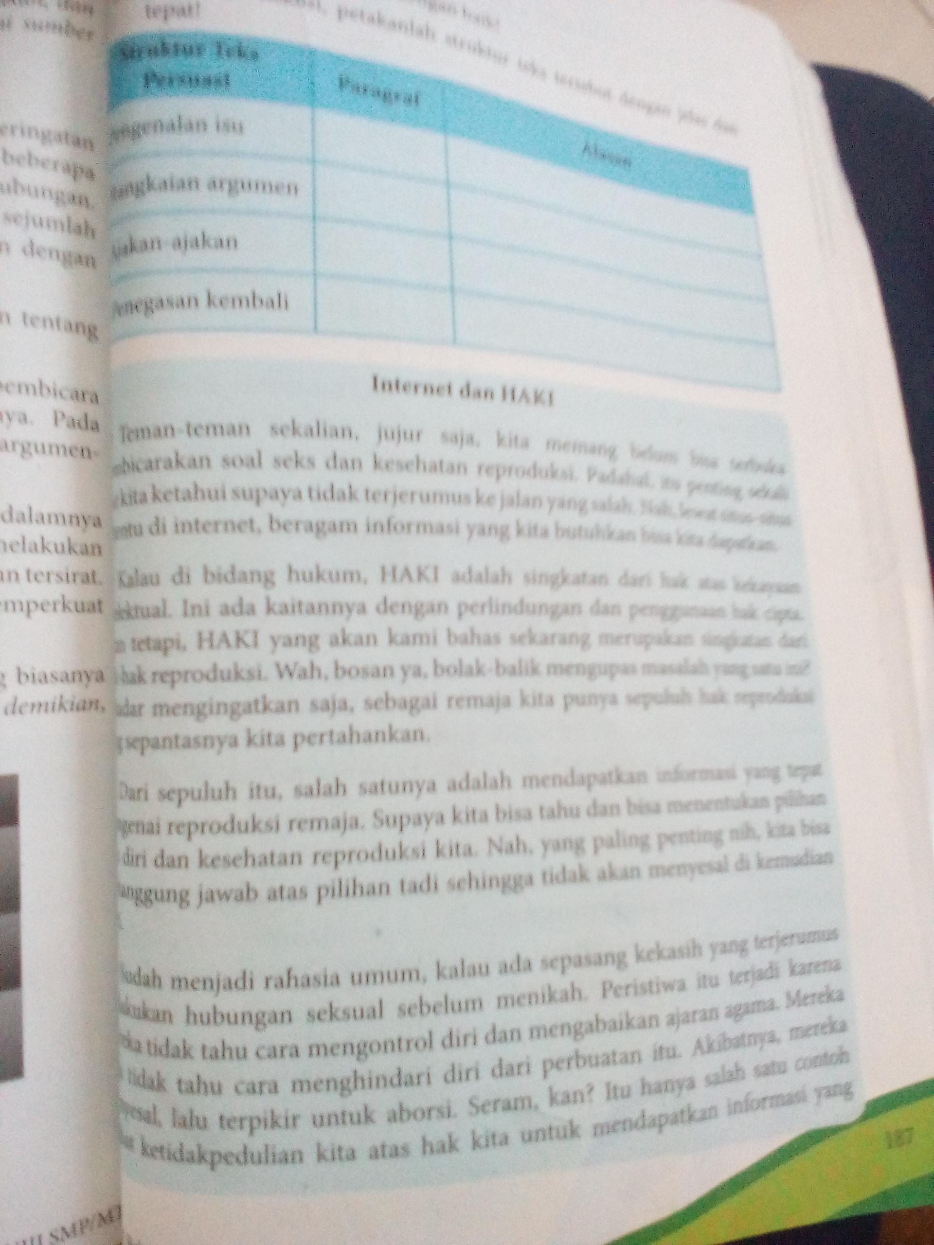 Tugas Halaman 163 Bahasa Indonesia Paket K 13 Revisi