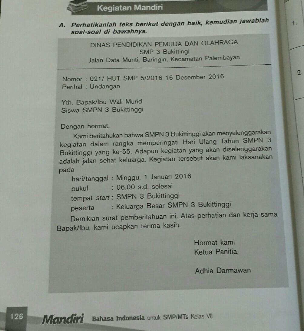 1 Buktikan Bahwa Teks Tersebut Merupakan Jenis Surat Dinas2