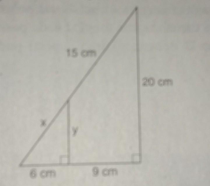 Perhatikan gambar di bawah ini. Nilai x+y adalah... a. 20b ...