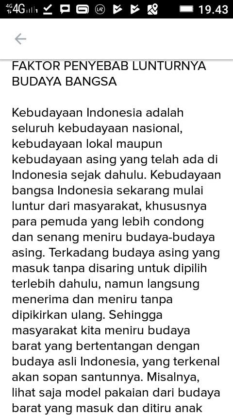 Contoh Teks Non Fiksi Tentang Kebudayaan Indonesia Brainly Co Id