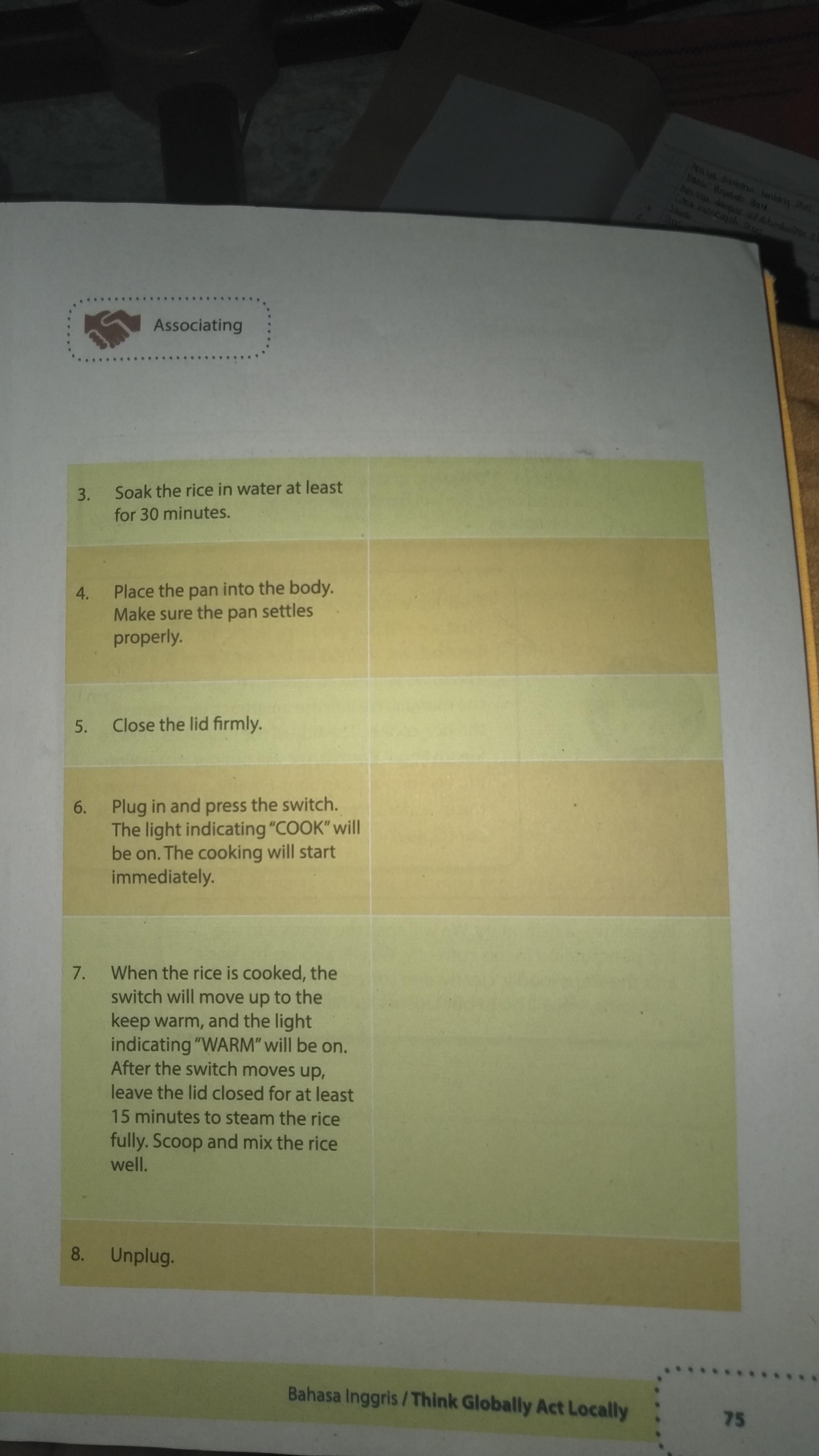 Jawaban Bahasa Inggris Kelas 9 Hal 75 Brainly Co Id